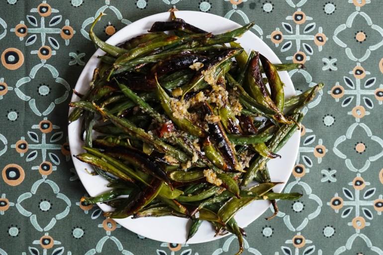 bean and pea salad